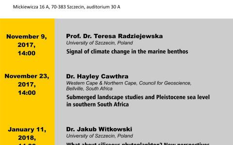 Szczecin Geoscience Seminar
