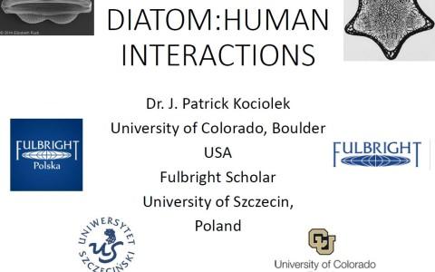 """Wykłady prof. J.P. Kociolek """"Diatoms: Taxonomy, Ecology and Biogeography"""""""