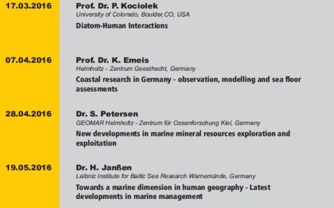 """Szczecin Geosciences Seminars"". PhD seminars. Summer Semester 2016"