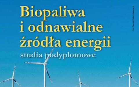 """Trwa rekrutacja na nowy kierunek studiów podyplomowych """"Biopaliwa i odnawialne źródła energii"""""""