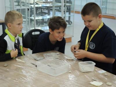 Warsztaty z preparowania skamieniałości podczas Zachodniopomorskiego Festiwalu Nauki