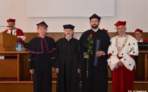 Michał Tomczak Doktorem Nauk o Ziemi w dyscyplinie oceanologia