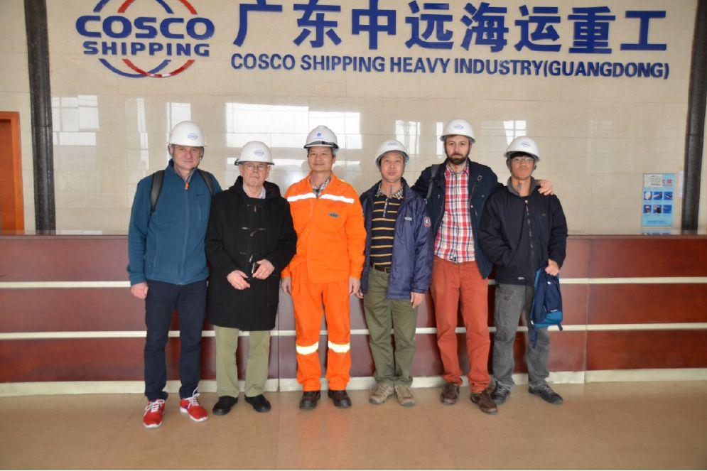 Wizyta pracowników WNoZ w Guangzhou