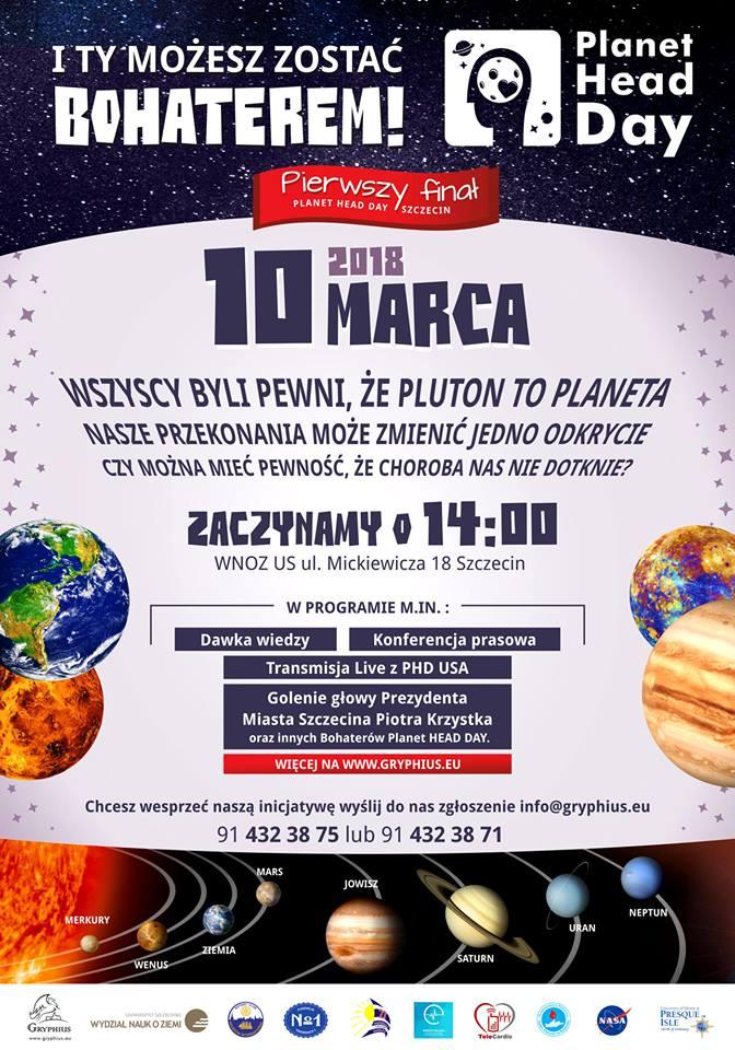 Pierwszy Finał Planet Head Day Szczecin! 10.03.2018