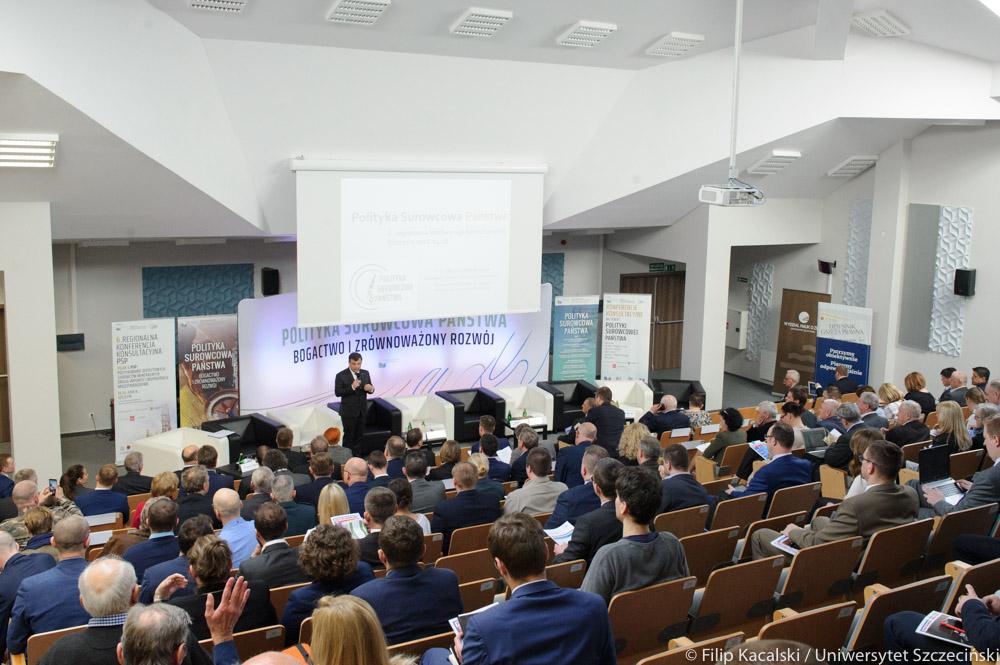 O konferencji konsultacyjnej Polityki Surowcowej Państwa w Szczecinie